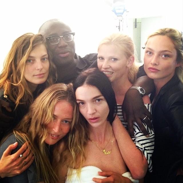 daria raquel lara mariacarla karmen Instagram Photos of the Week | Daria Werbowy, Raquel Zimmermann + More Models