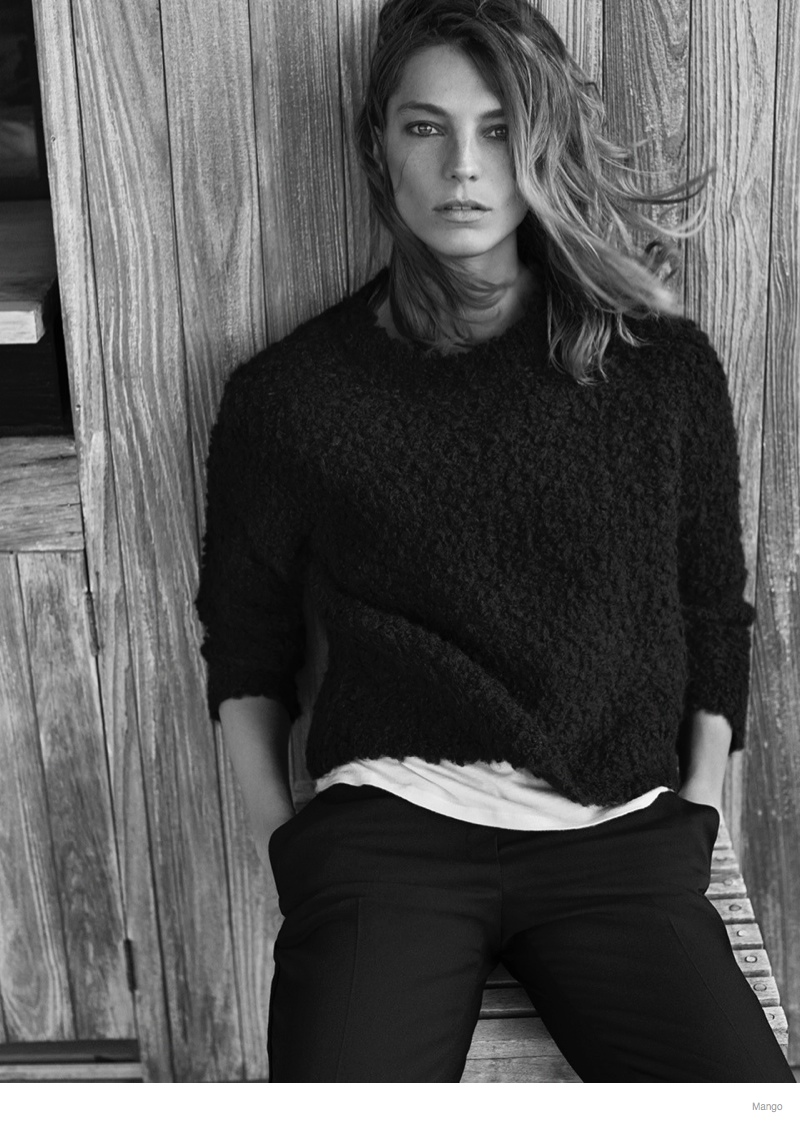 daria werbowy mango fall 2014 ad photos11 More Photos of Daria Werbowy for Mango Fall 2014 Ads