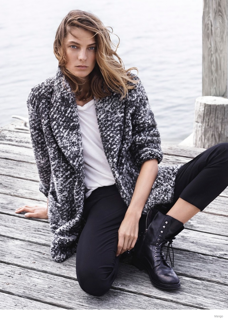 daria werbowy mango fall 2014 ad photos14 More Photos of Daria Werbowy for Mango Fall 2014 Ads
