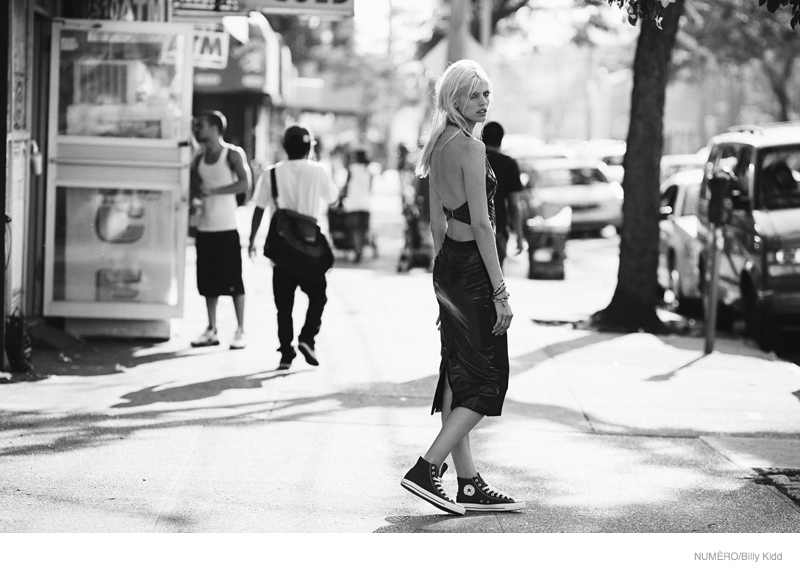 devon windsor coney island shoot13 Coney Island Fashion: Devon Windsor by Billy Kidd for Numero #156