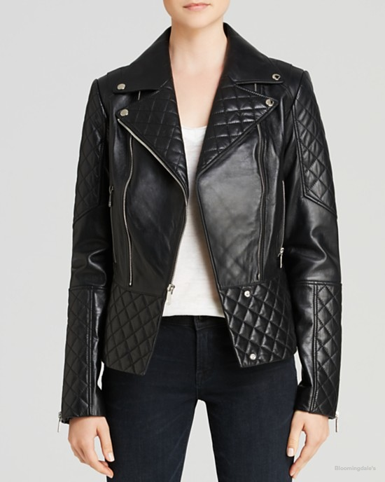 DL2 by Dawn Levy Dakota Quilted Leather Moto Jacket available at Bloomingdale's for $699.00