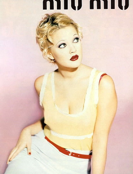 TBT | Drew Barrymore Looks Very 90s in These Miu Miu Ads