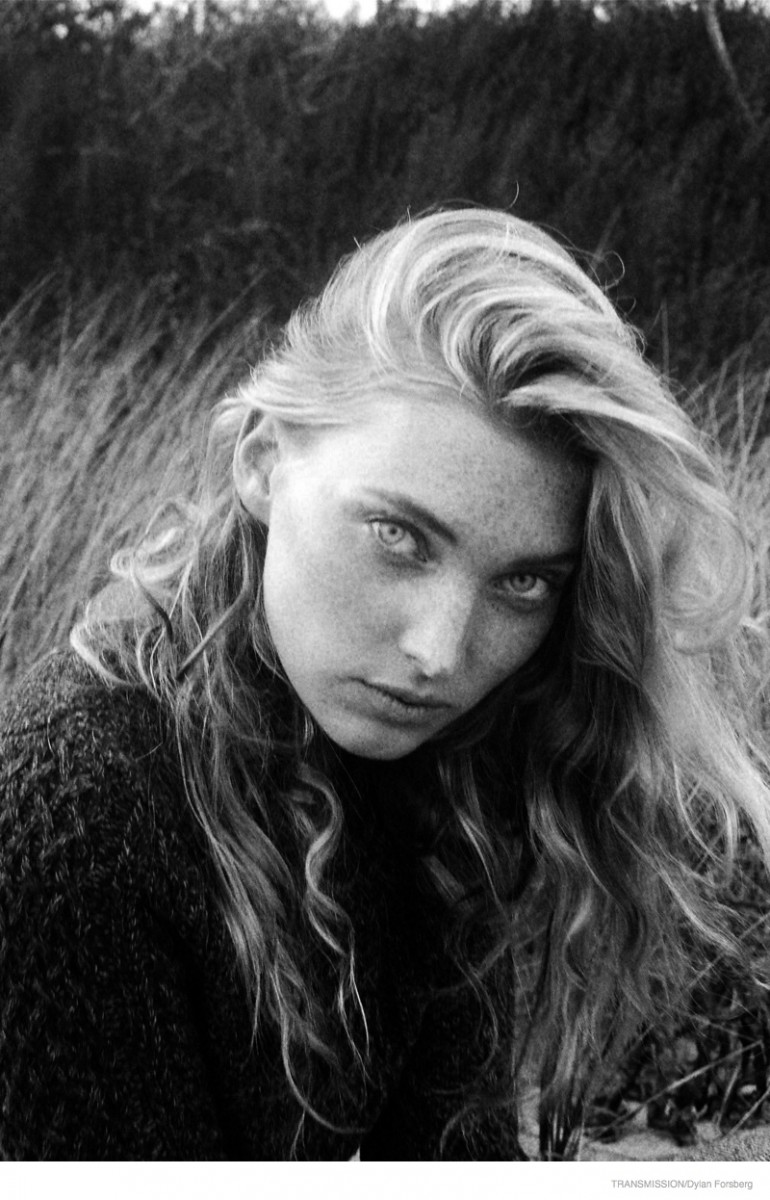 Elsa Hosk Stuns for Transmission Photoshoot by Dylan Forsberg