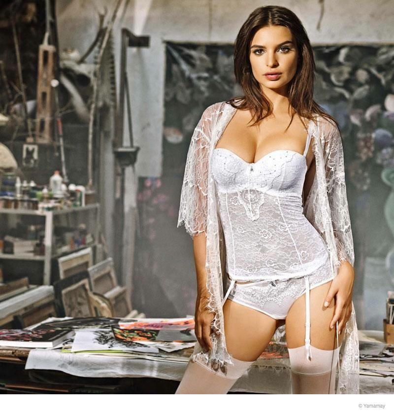 emily ratajkowski yamamay underwear 2014 fall ad campaign14 Emily Ratajkowski Models Lingerie for Yamamay's Fall 2014 Ads