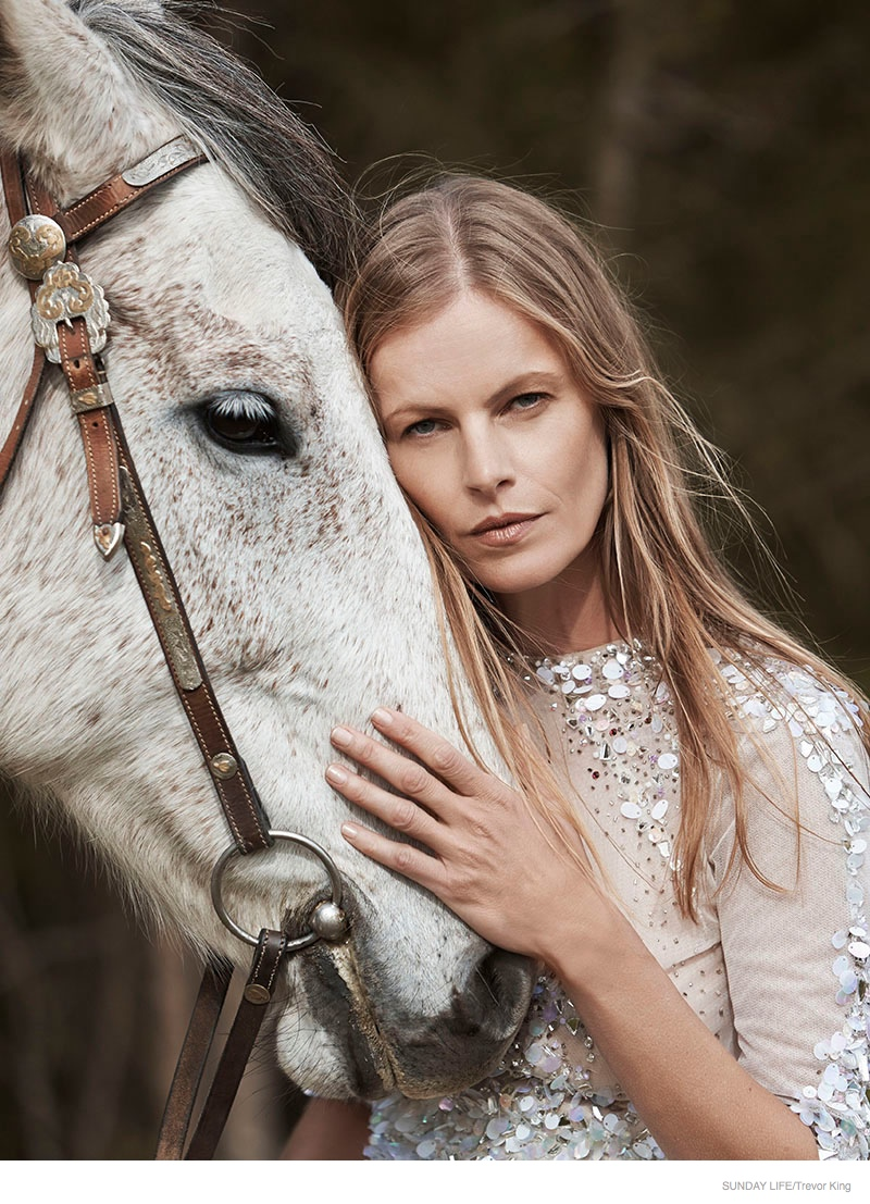 Emma Balfour Embraces Nature for Sunday Life by Trevor King