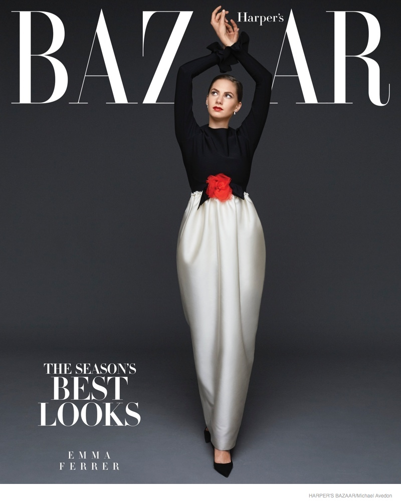 emma-ferrer-audrey-hepburn-granddaughter-bazaar01