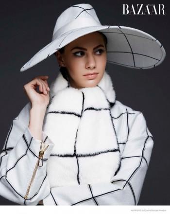 Audrey Hepburn's Granddaughter Emma Ferrer Tapped for BAZAAR's September Issue