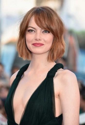 Emma Stone Now Has a Bob Haircut