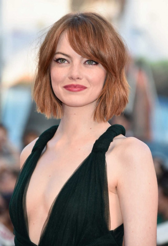 Emma Stone Now Has a Bob Haircut