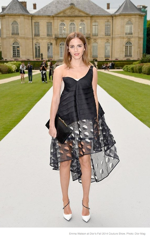 emma watson dior show Emma Watson Dishes on Her Personal Style & Favorite Accessories