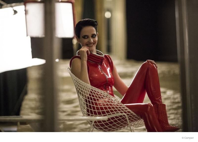 Eva Green to Star in Campari's 2015 Calendar + Behind the Scenes