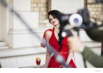 Eva Green to Star in Campari's 2015 Calendar + Behind the Scenes