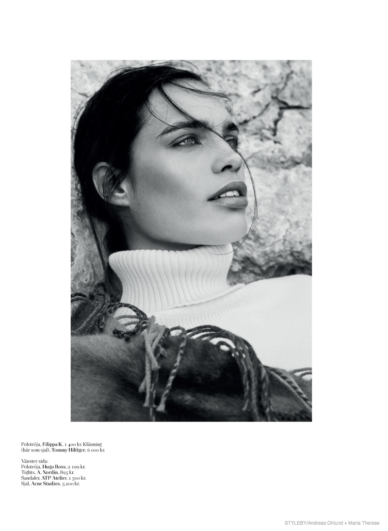 fall fashion styleby07 Comfortably Chic: Constanza Saravia for Styleby #27 by Andreas Öhlund & Maria Therese