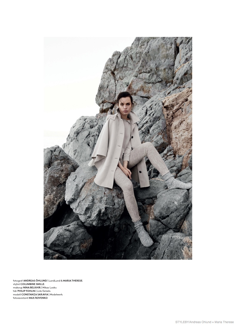 fall fashion styleby10 Comfortably Chic: Constanza Saravia for Styleby #27 by Andreas Öhlund & Maria Therese