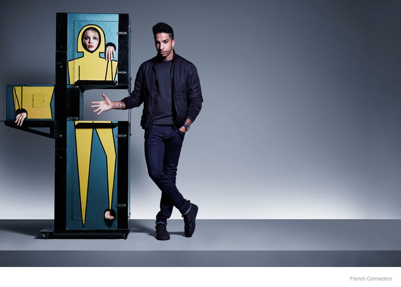 French Connection 2014 Fall Winter Ad Campaign Fashion