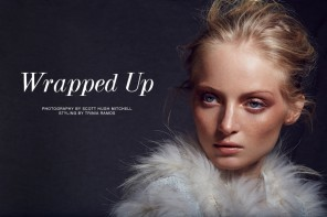 "FGR Exclusive | Ash Walker by Scott Hugh Mitchell in ""Wrapped Up"""