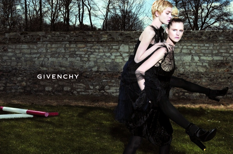 givenchy fall 2006 ad campaign TBT | Mariacarla Boscono for Givenchy Through the Years
