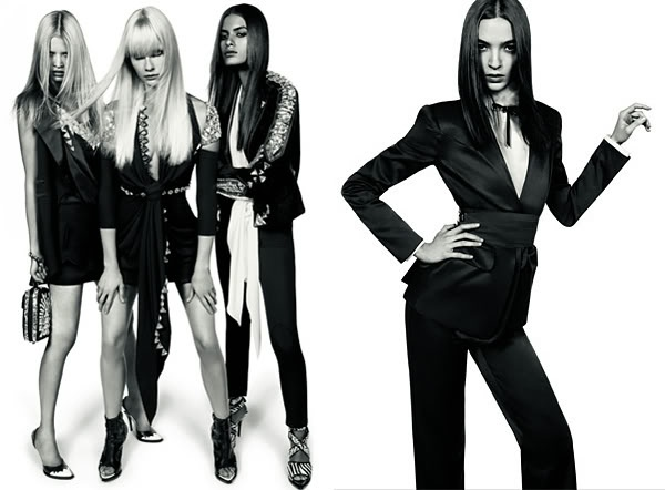 Mariacarla Boscono for Givenchy Spring 2009 Campaign by Mert & Marcus