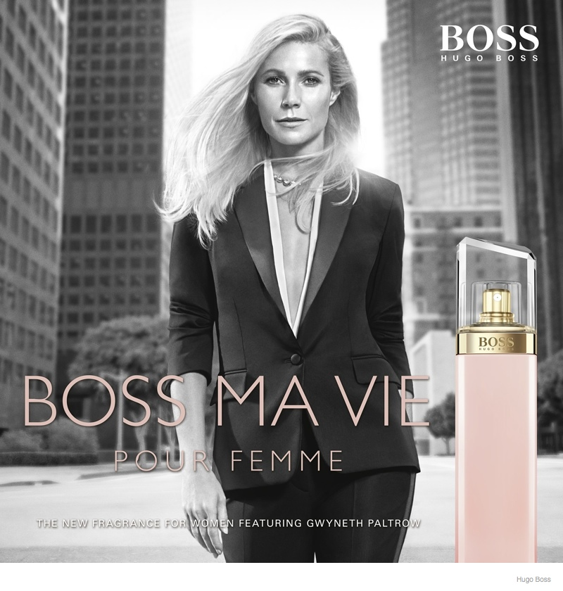 "Gwyneth Paltrow Fronts Hugo Boss 'Boss Ma Vie"" Fragrance Ad"