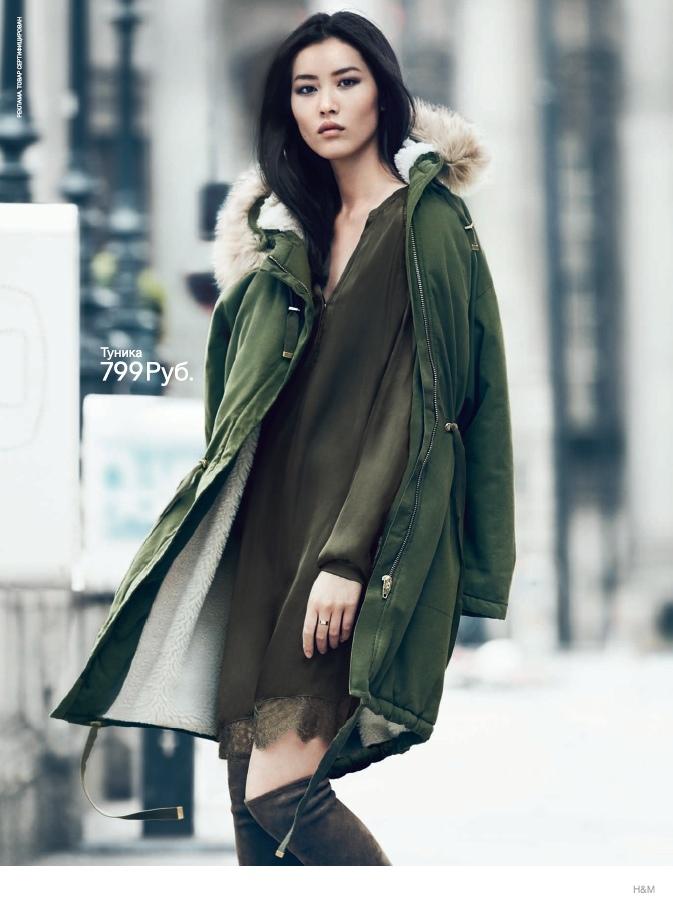 Liu Wen, Natasha Poly + Liya Kebede Star in H&M's Fall 2014 Campaign