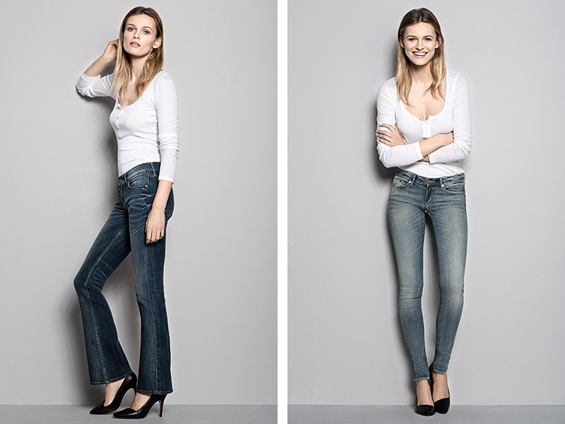 hm denim fit guide styles H&M Denim Fit Guide with Edita Vilkeviciute