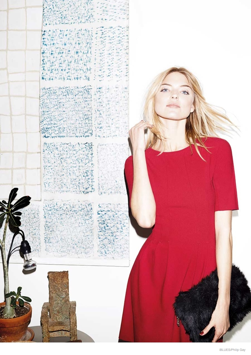 iblues-dresses-fall-2014-campaign-martha-hunt03