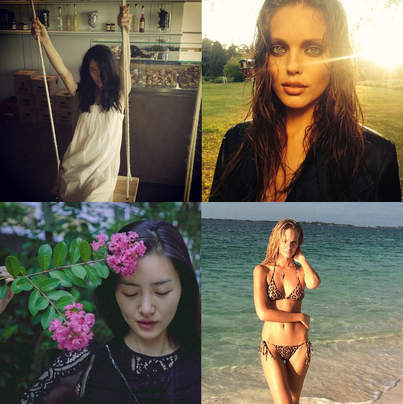 Instagram Photos of the Week | Liu Wen, Emily DiDonato + More Models