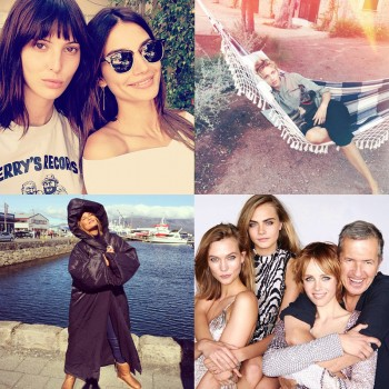 Instagram Photos of the Week | Lily Aldridge, Chrissy Teigen + More Models