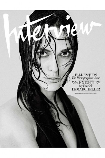 See Interview Magazine's 6 September Cover Stars: Keira Knightley, Naomi Campbell + More