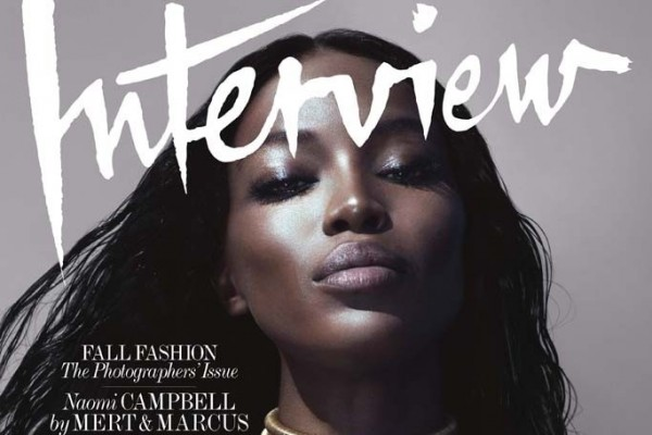Naomi Campbell by Mert & Marcus for Interview September 2014