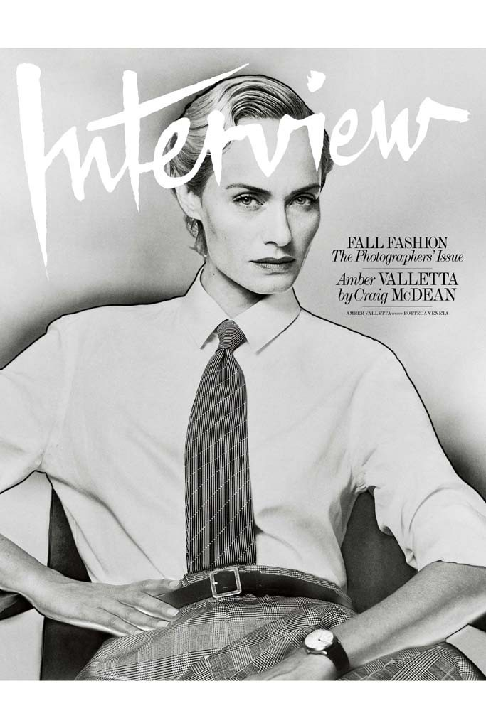 Amber Valletta by Craig McDean for Interview September 2014