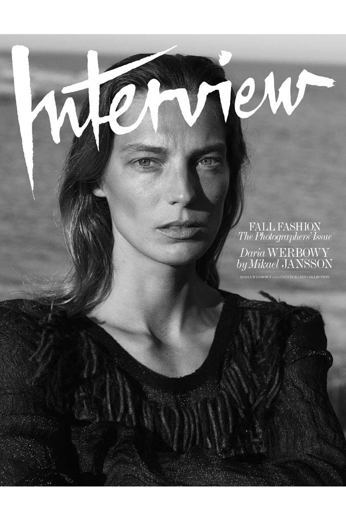 Daria Werbowy by Mikael Jansson for Interview September 2014