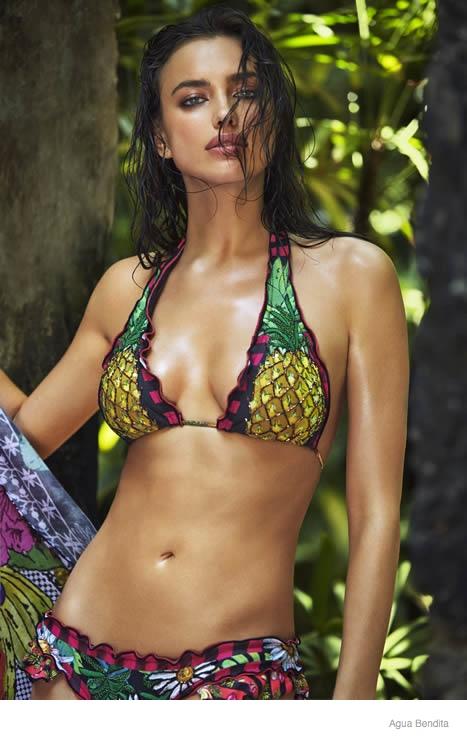 irina shayk agua bendita swimwear 2015 ad campaign09 Irina Shayk Brings the Heat for Agua Bendita's 2015 Swimsuit Ads