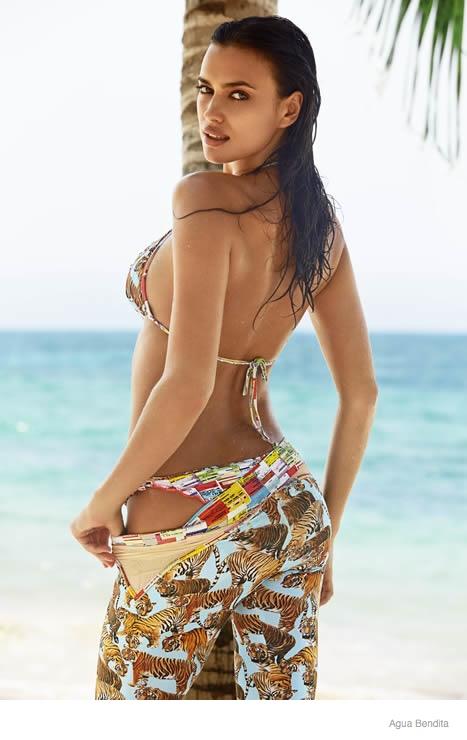 irina shayk agua bendita swimwear 2015 ad campaign13 Irina Shayk Brings the Heat for Agua Bendita's 2015 Swimsuit Ads