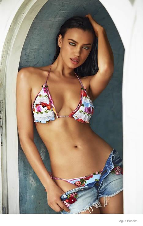 irina shayk agua bendita swimwear 2015 ad campaign18 Irina Shayk Brings the Heat for Agua Bendita's 2015 Swimsuit Ads