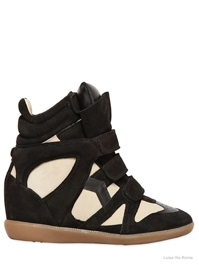 isabel marant bekett sneaker wedges01 Embrace the Sporty Trend with Isabel Marant's Bekett Sneaker Wedges