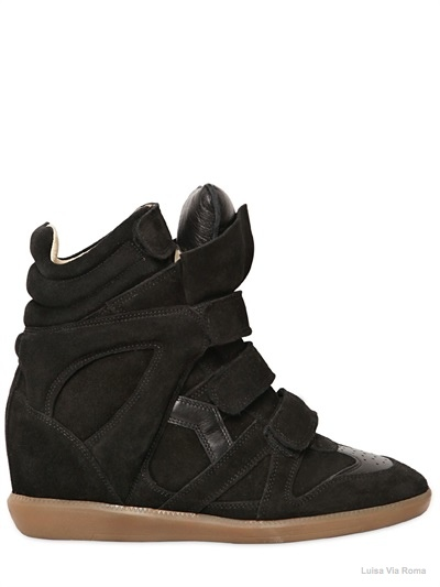 isabel marant bekett sneaker wedges02 Embrace the Sporty Trend with Isabel Marant's Bekett Sneaker Wedges