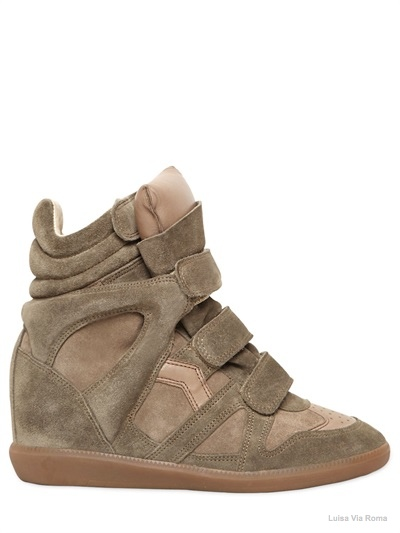 isabel marant bekett sneaker wedges04 Embrace the Sporty Trend with Isabel Marant's Bekett Sneaker Wedges