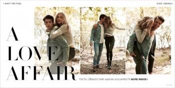 Dorothea Barth Jorgensen Models J Brand Denim Looks for Shopbop Shoot