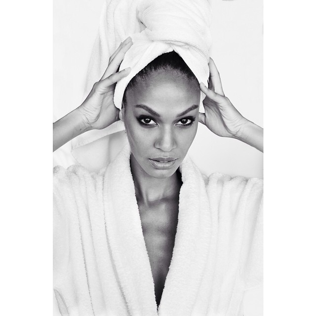 "Joan Smalls is the Latest Model to Star in Mario Testino's ""Towel Series"""
