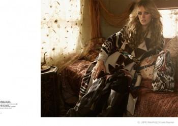 Julia Frauche Wears Gypsy Fashions for El Libro Amarillo by David Roemer