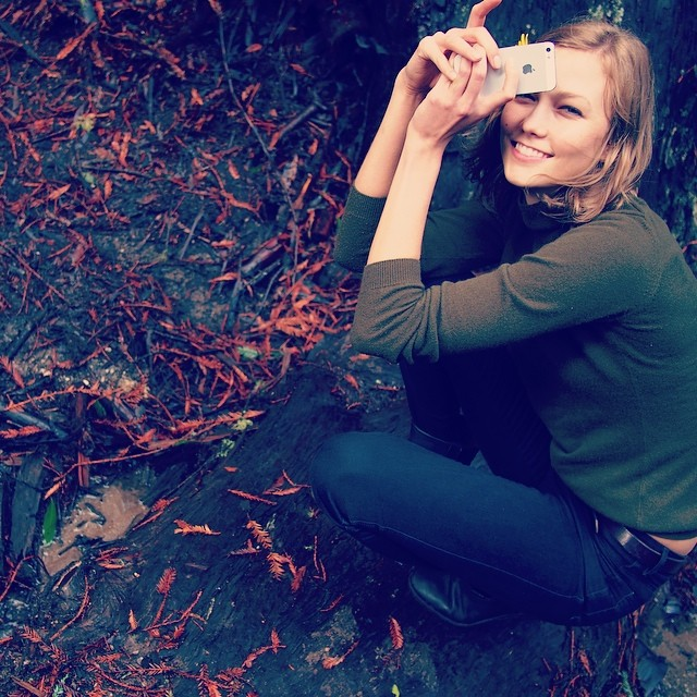 Karlie Kloss by her friend Taylor Swift