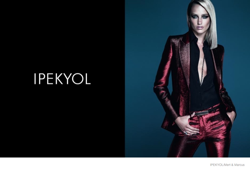 karmen pedaru ipekyol clothing 2014 fall ad campaign01 Karmen Pedaru Returns for Ipekyol Fall 2014 Ads by Mert & Marcus