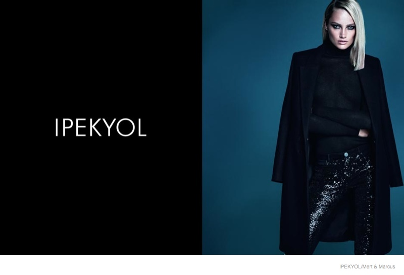 karmen pedaru ipekyol clothing 2014 fall ad campaign02 Karmen Pedaru Returns for Ipekyol Fall 2014 Ads by Mert & Marcus