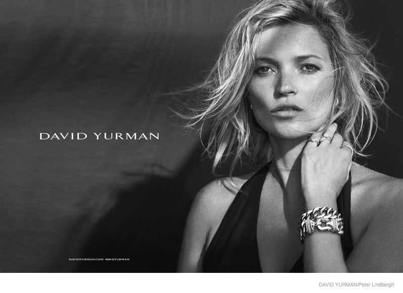 Kate Moss for David Yurman Fall 2014 Campaign