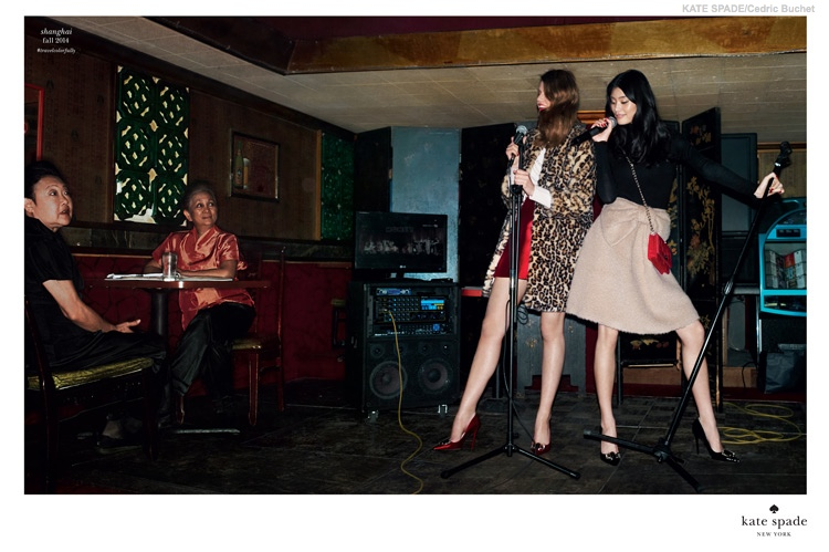 Ming Xi Has Stylish Fun in Kate Spade's Fall 2014 Campaign