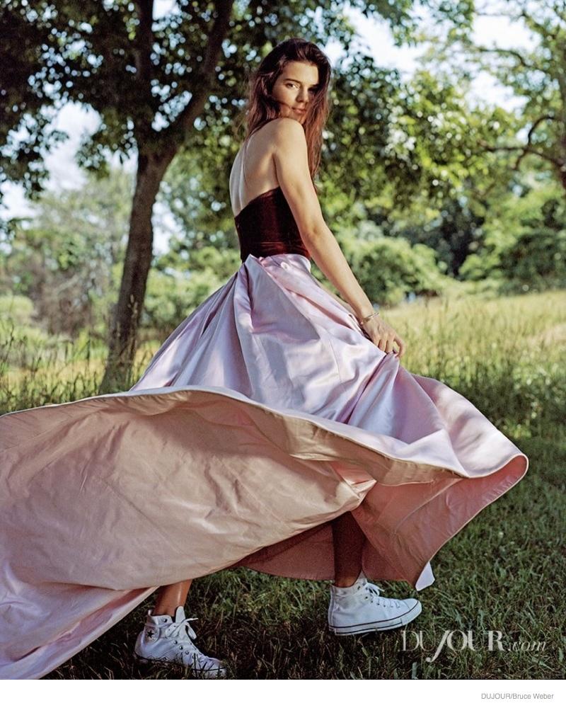 kendall jenner bruce weber dujour03 Kendall & Kylie Jenner Pose for Bruce Weber in Dujour Magazine