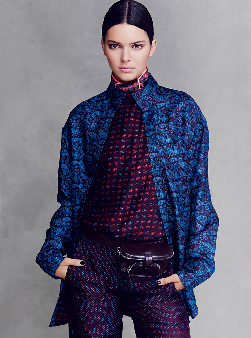 Kendall Jenner Makes Vogue US Debut in Alexander Wang
