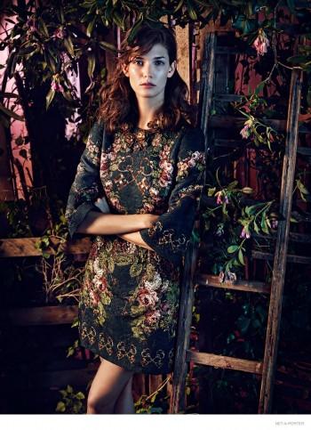Kendra Spears Models Romantic Bohemian Styles for The Edit Shoot