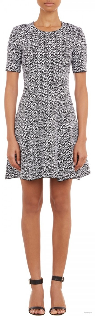 Kenzo Compact Knit Fit & Flare Dress available at Barney's for $958